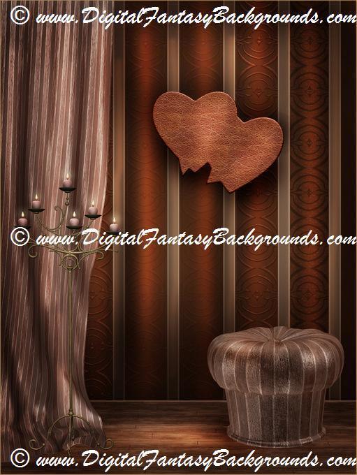 Sweet Valentine Day Fantasy Backgrounds Digital Fantasy