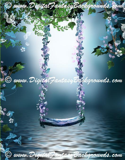 Product Description A Beautiful Collection Of 10 Fantasy Garden Digital Backgrounds