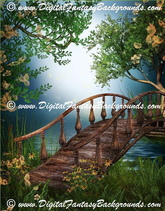 Fantasy Garden Backgrounds 28324